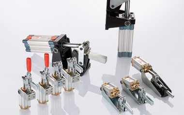 Toggle clamps - Pneumatic series